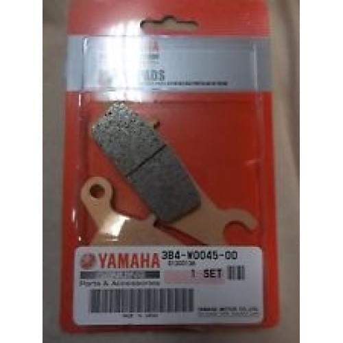 Колодки тормозные левые передние YAMAHA 3B4-W0045-00-00