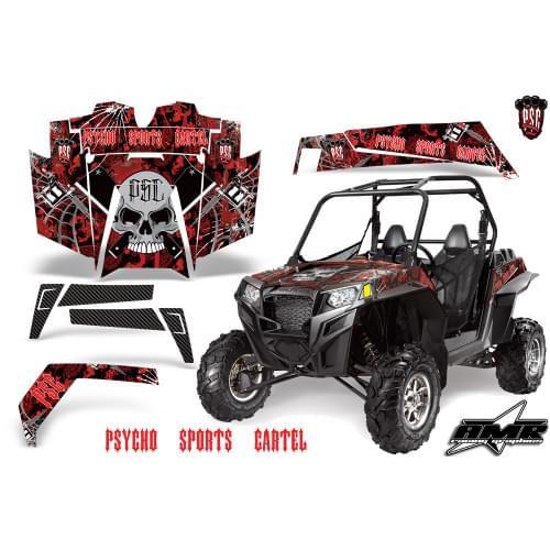 Комплект графики AMR Racing Psycho Sports Cartel (RZR900XP)