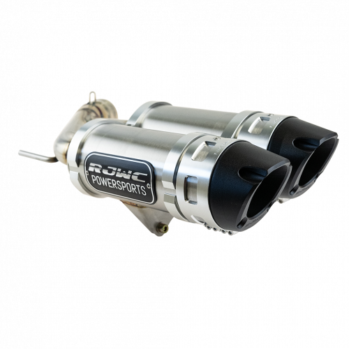 Глушитель двойной RJWC Krossflow для квадроцикла Polaris Sportsman / Scrambler XP 1000 S (2020-)