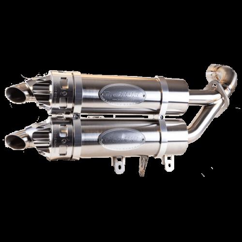 Глушитель двойной RJWC для Polaris General 1000 / RZR 1000S (2016-2018)