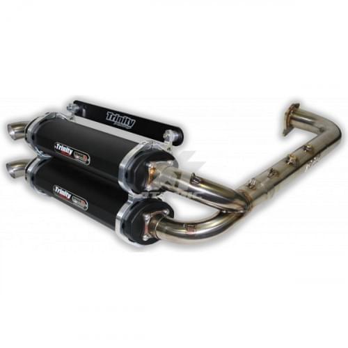 Полная двойная выхлопная система для POLARIS RZR 900S / X